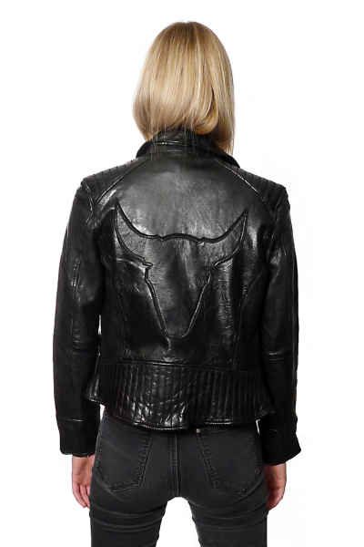 Jacket Leather Bull b