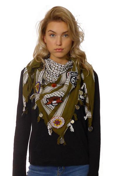 Shawl Shemagh Embellished