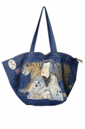 Bag Natalia Denim Tiger Samurai Pr