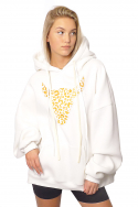 Hoodie Oversized Wh f