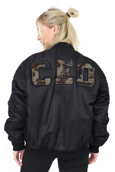 Jacket Bomber CEO b