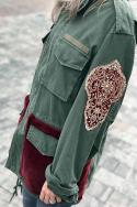 Parka Faux Fur Pockets S L